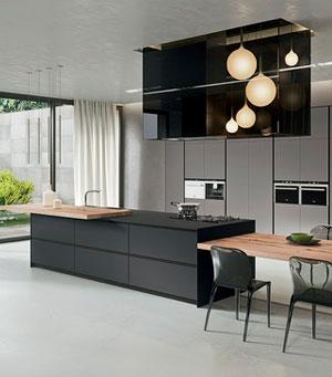 Дизайн-проект современной итальянской кухни